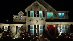 haunted halloween house with spiders skeletons atmosfearfx atmosfx