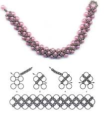 necklace patterns with beads images Beading a necklace instructions la necklace jpg