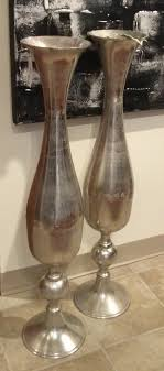 floor decor and more accessories large silver vase visit our showroom we wide