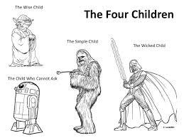 simple haggadah wars four children haggadot