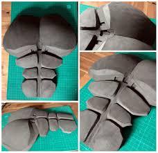 batman arkham origins eva foam build by kamilboy cosplay torso