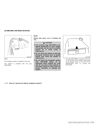 nissan altima 2005 l31 3 g owners manual