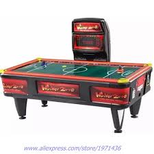 hockey time air hockey table amusement equipment air hockey table coins token operated game