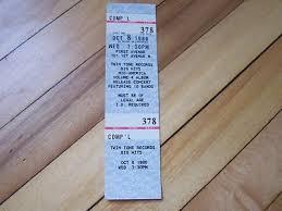 ticket stub album 46 best vintage concert tickets ticket stubs images on
