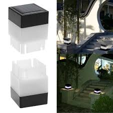 Solar Light Online Shopping Waterproof Solar Powered Led Light Fence Post Pool Square Light