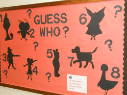 it u0027s a mystery character bulletin boards book characters and