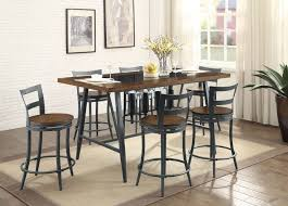 Counter High Dining Table Standard Furniture Bella 5 Piece