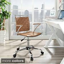 White Fluffy Desk Chair White Office U0026 Conference Room Chairs For Less Overstock Com