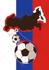 Geography Of Russia by Geography Of Russia Soccer Team Vector Image 1848038