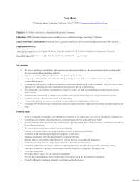 college resume sle 2014 new graduate respiratory therapist resume h gt middot cover letter
