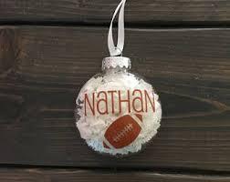 football ornament etsy