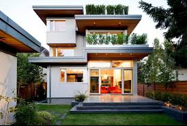 Nice small modern house by Natural Balance Home Builders