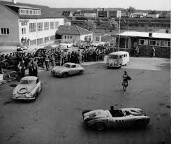 Porsche 1954 Mille Miglia 1954 Porsche N 351 Porsche 550 Spyder Hans