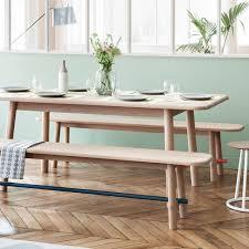 table et banc cuisine shopping des tables à manger chics et conviviales bancs en bois