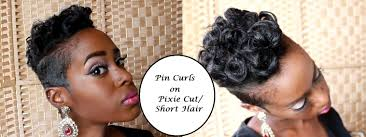pin curls on pixie cut short hair youtube