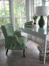 Cottage Style Slipcovers Cottage Style Desk Area A Custom Slipcover Updates A Famil U2026 Flickr