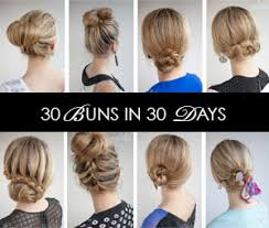 different hair buns get ready fast with 7 easy hairstyle tutorials for hair hair