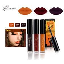 Halloween Lip Makeup 2017 New Halloween Lip Makeup Gloss Kits Waterproof Pigments Long