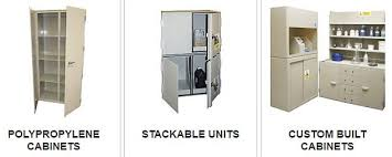 Chemical Storage Cabinets Polypropylene Chemical Storage Cabinets