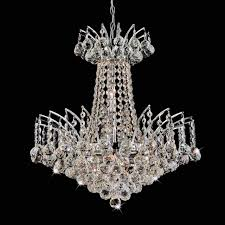 Chrome Crystal Chandelier by Brizzo Lighting Stores 20