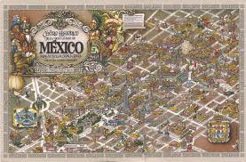 Map Of Mexico City by My Unesco Whs Postcards Collection Mexico Historic Centre Of