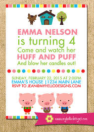 printable pigs inspired invitation oink farm