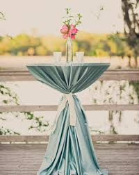 cocktail table centerpieces light blue wedding decor wedding cocktail hour decorations