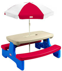 fisher price table and chairs little tikes easy store large picnic creative folding picnic table