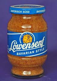 lowensenf mustard german mustards lowensenf bavarian style sweet mustard