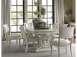 lexington oyster bay seven piece dining set with montauk table and