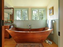 Bathtub Panel by Bathroom Soaking Tub Wainscoting Windows Wooden Bathtub Recessed