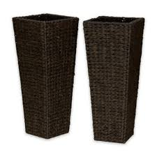 Wicker Vases Buy Tall Decorative Vases From Bed Bath U0026 Beyond