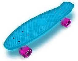 neon hype skateboard red toys