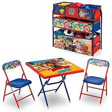 paw patrol adventure bay play table delta children nick jr paw patrol playroom solution set table