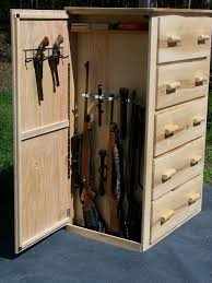 Woodworking Projects With Secret Compartments - gun storage ideas storage decorations
