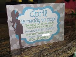 the colquett 5 april is ready to pop surprise baby shower