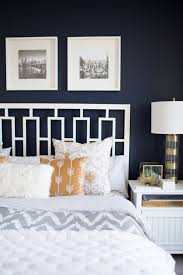 Yellow Bedroom Walls The Best Navy Bedroom Wall Idea