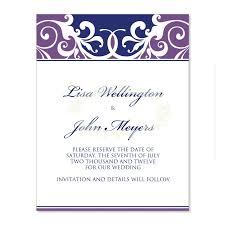 wedding invitations kits purple blue wedding invitation kit jordana plum diy printable