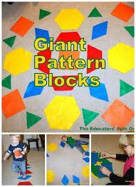 pattern blocks math activities 36 best patterns pattern blocks images on pinterest kindergarten