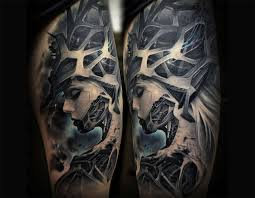 collection of 25 biomechanical tattoo