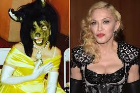 madonna halloween costumes madonna is both a beauty and a beast page six