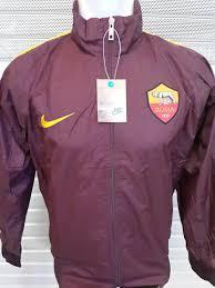 desain jaket warna coklat jaket parasut as roma 2014 2015 warna coklat jual jersey grade ori