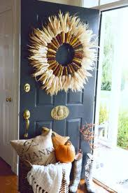 front door decor ideas for fall house design ideas