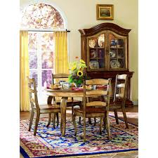 Hooker Dining Room Tables Hooker Furniture 478 75 900 Vineyard 54 Buffet And Hutch In Medium