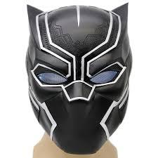 Led Halloween Costumes Xcoser Black Panther Mask Helmet Props Halloween Costume