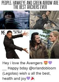 Hawkeye Meme - people hawkeye and green arrow are the best archers ever all things