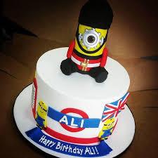 minion birthday cakes london minion birthday cake blue sheep bake shop