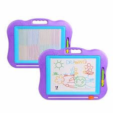 magnetic drawing board kids magna doodle erasable writing sketch