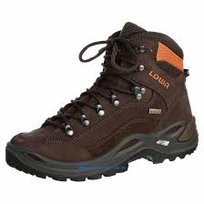 lowa womens boots nz lowa renegade gtx mid walking boots brown orange outdoor shoes