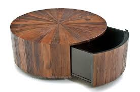 Rustic Round End Table Coffee Table Slab Coffee Table Round Coffee Tables With Drawers